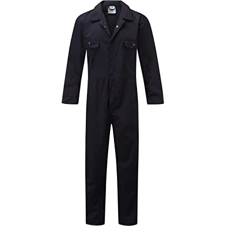 Fort 318 Workforce Boiler Suit, Navy Blue, Size Medium