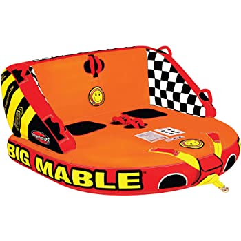 Sportsstuff Big Mable | 1-2 Rider Towable Tube for Boating