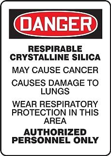 Accuform MCAW044VA Aluminum Sign, Legend