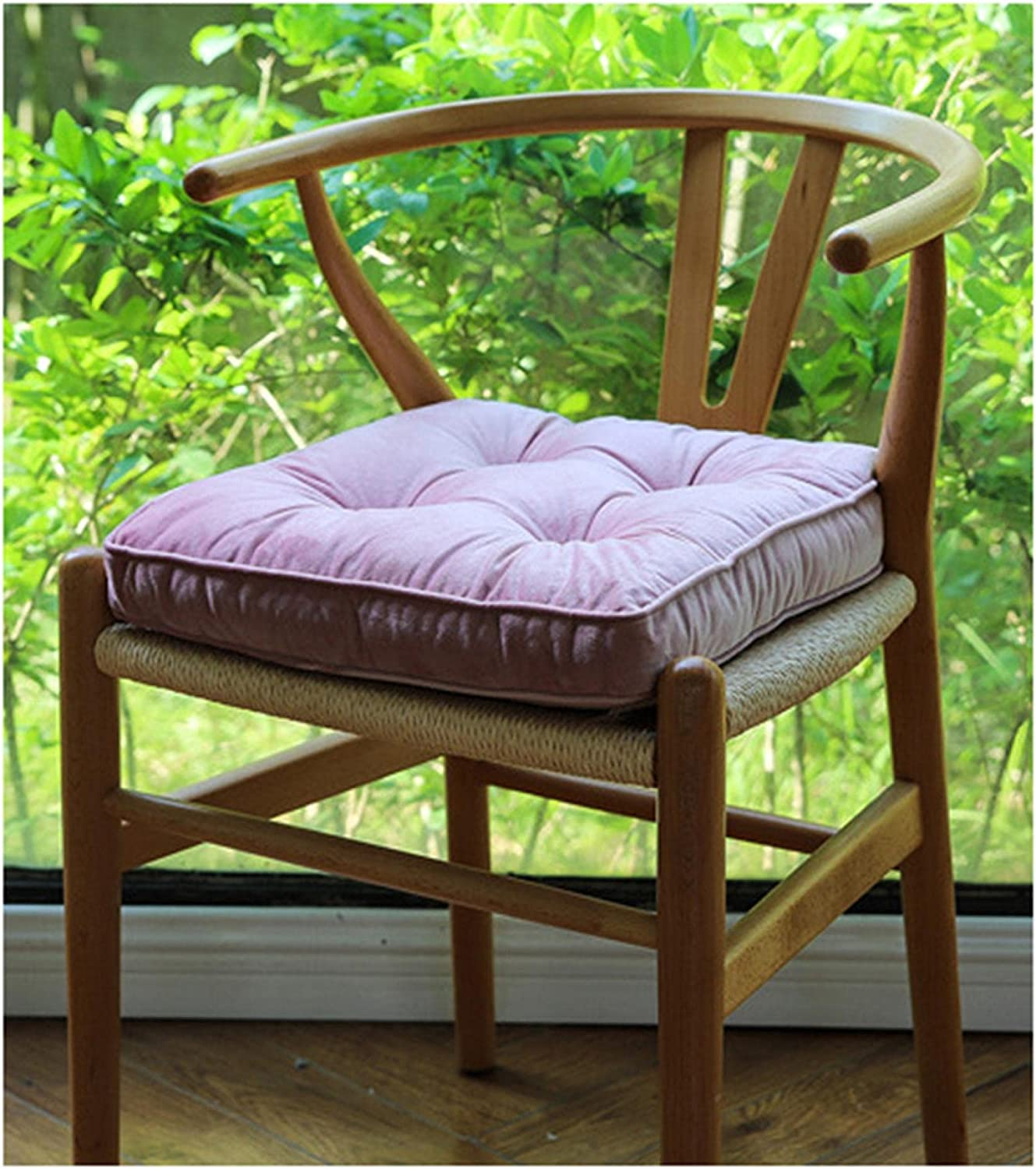 DFGD Outdoor Max 52% OFF Corduroy Chair Pad with Ties Dini Indoor New color Home Decor