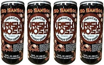 BIG BAMBOO JAMAICAN IRISH MOSS PEANUT DRINK 9.8 OZ 4PK