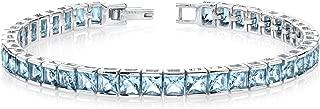 Best blue stone tennis bracelet Reviews