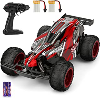 Remote Control Car, 1:22 Scale High Speed RC Racing Truck Include 2 Rechargeable Batteries, All Terrain Eletronic RC Vehic...