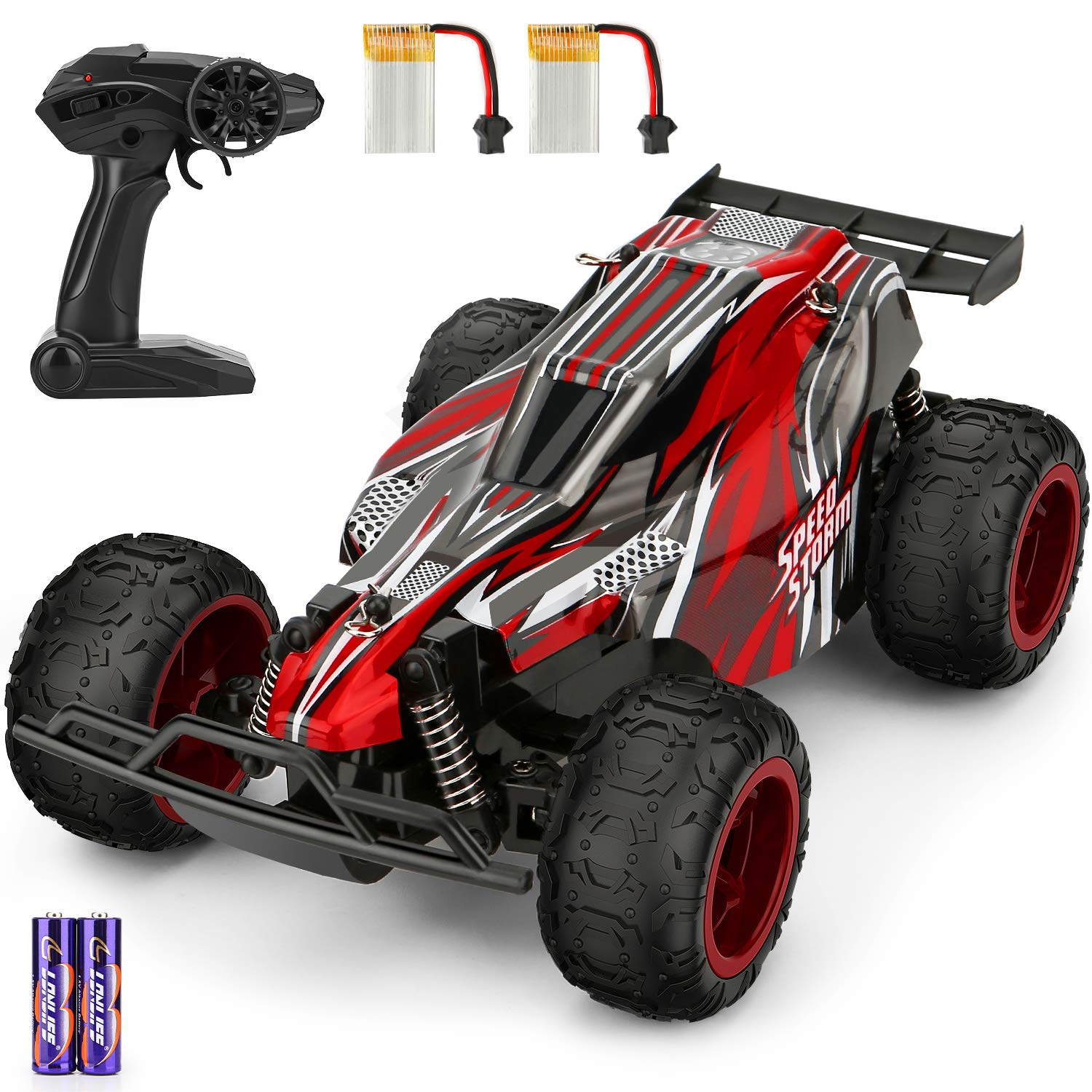 Remote Control Car 1 22 Scale High Speed Rc Racing Truck Include 2 Rechargeable Batteries All Terrain Eletronic Rc Vehicle Toy Gifts For Boys Teens Adults Amazon Com Au Toys Games
