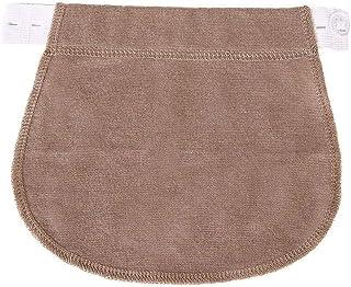 TMYQM حزام خصر مرن قابل للتعديل من الخصر حزام خصر مرن (اللون: كاكي)