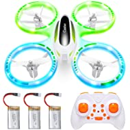 Cumbor Mini Drones for Kids and Beginners, RC Helicopter Quadcopter with Auto Hovering, Headless...