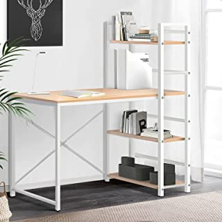 Artiss Computer Desk Metal Study Writing Table Student Office Drawer Cabinet