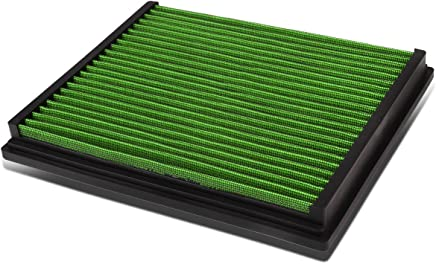 GREEN REUSABLE HIGH FLOW DROP-IN PANEL AIR FILTER FOR AUDI A4//A6//QUATTRO//S4//S6