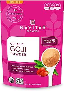 Navitas Organics Goji Powder, 8 oz. Bag � Organic, Non-GMO, Sun-Dried, Sulfite-Free