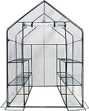 OGrow OG6868-D Deluxe Walk-in 6 Tier 12 Shelf Portable Greenhouse, Standard