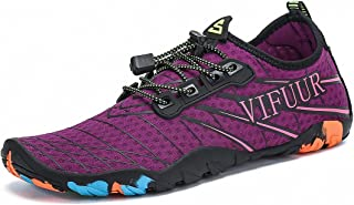 VIFUUR Mens Womens Aqua Shoes Quick Dry Water Shoes Outdoor Indoor Shoes Boating Kayaking Diving Beach Swim Yoga