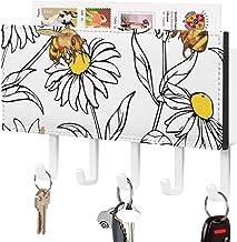 Clé murale - Crochet à clé mural, Support mural pour trieuse de courrier, Organisateur de porte-clé de courrier, Décor à l...