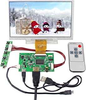 Pomya 7 inch LCD Touchscreen Monitor,1024600 4:3 Touch Screen for Raspberry Pi , HDMI Display Resistive Touchscreen for Raspberry