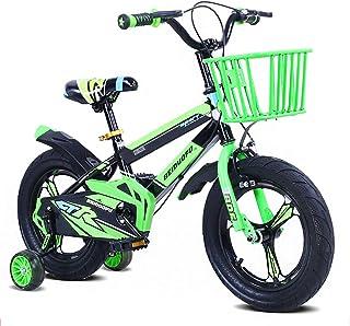 Kids' Bikes from 3-8 Years Boys & Girls Children's Bicycles 12/14 / 16 Inch V Break Front Brake Training Wheels Pneumatic ...