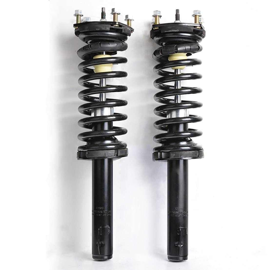 MILLION PARTS 2pc Front Complete Strut Shock Absorber Assembly 171377 for Jeep 2006-2010 Commander 2005 2006 2007 2008 2009 2010 Grand Cherokee