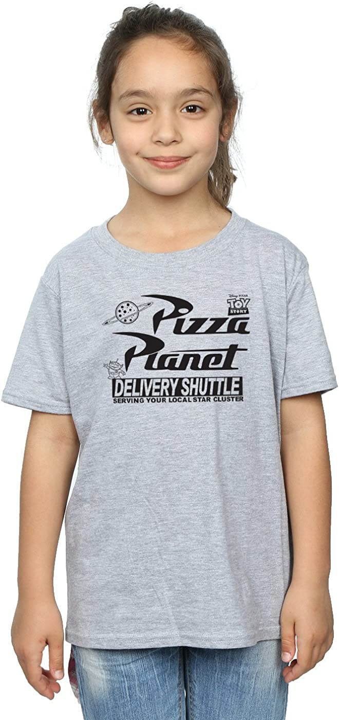 Disney Girls Toy Story Pizza Planet Logo T-Shirt
