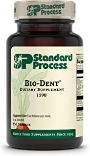 Standard Process Bio-Dent - Whole Food Supplement for Skin, Muscle, and Bone Health - Calcium, Licorice Root, Manganese, P...