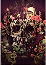 Jigsaw Puzzle 1000 Piece Wooden Puzzle Adults Puzzles Skull Roses Flower Wedding Children Art DIY Leisure Game Fun Toy Suitable Family Friends