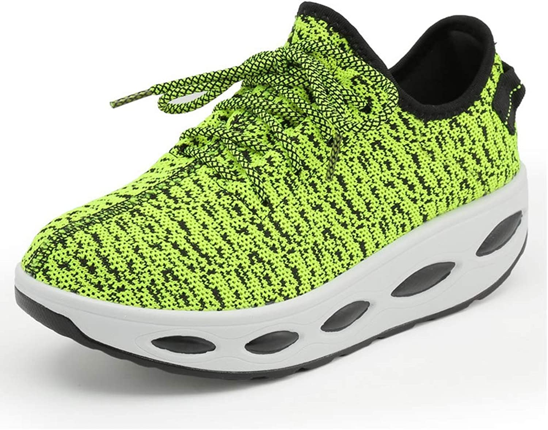 CYBLING Women's Platform Wedges Sneakers Comfortable Lightweight Sport Exercise Tennis Walking shoes
