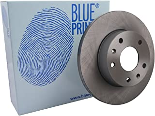 front 2 Brake Disc No full of Holes 5 Blue Print ADJ134329 Brake Disc Set
