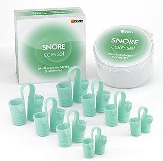 Set of 8 Nasal Dilators - Anti Snoring Devices - Snoring Solution - Snore Stopper Set - Natural Stop Snoring Devices Reduce Snoring - Anti Snoring Nose Vents