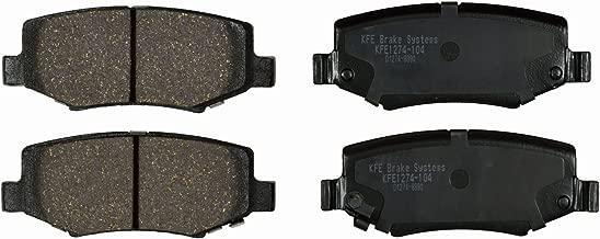 KFE Ultra Quiet Advanced KFE1274-104 Premium Ceramic REAR Brake Pad Set