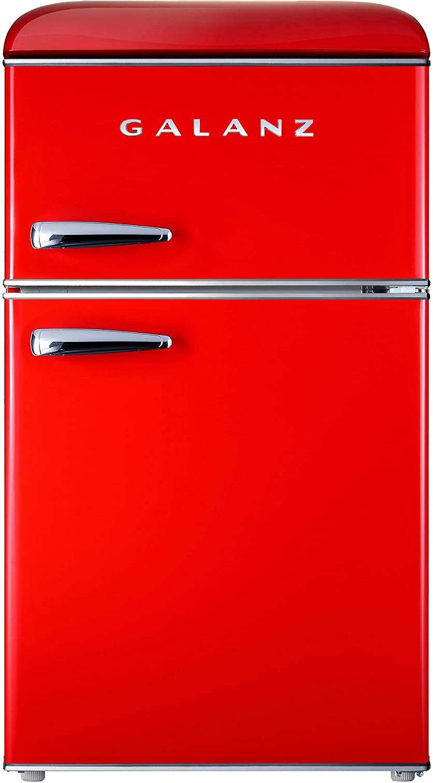 Galanz GLR31TRDER Retro Compact Refrigerator