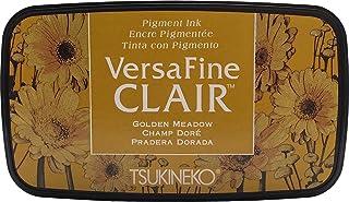 Tsukineko VF-CLA-951 Doré Meadow Versafine Clair d'encrage, matière synthétique, Jaune, 5.6 x 9.7 x 2.3 cm, Matériau, 5,6 ...