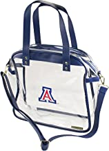Capri Designs Clear Carryall Tote Stadium Approved - UA Wildcats