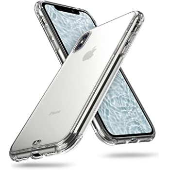 ORIbox Case for iPhone Xs MAX, Translucent Matte case with Soft Edges, Shockproof and Anti-Drop Protection Case Designed for iPhone Xs MAX, Clear
