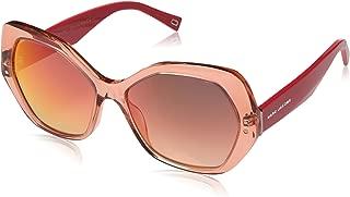 Marc Jacobs Women's Marc 117/S 2T 26X 56 Sunglasses, (Orange/Red Ml Sf), 56