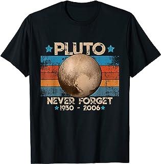 Vintage Never Forget Pluto - Planète Pluton Astronomie Space T-Shirt