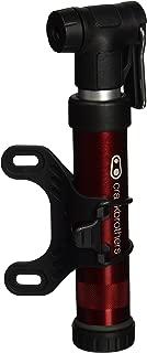 Crankbrothers Gem Bike Bomba de Mano – Bomba de pistón Doble Corta/Larga, Presta/Schrader, Bomba Manual de Alto Volumen y Alta presión