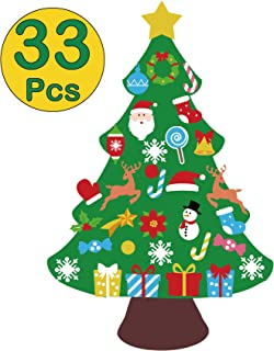 Best felt christmas tree wall hanging Reviews