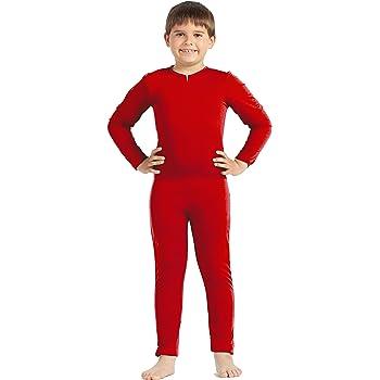 Disfraz de maillot infantil rojo (10-12 años): Amazon.es: Juguetes ...