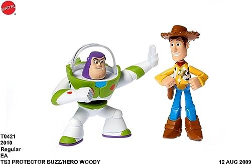 descuento de ventas Disney Pixar Toy Toy Toy Story 3 Hero Woody and Buzz Figures by Toy Story  hasta un 60% de descuento