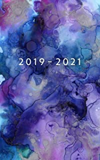 2019 - 2021: Weekly Planner Starting August 2019 - July 2021 | 5 x 8 Dated Agenda | 24 Month Appointment Calendar | Organizer Book | Soft-Cover Watercolor