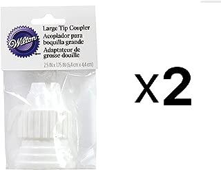 Large Cake Decorating Tip Coupler -Set of 2