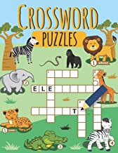 Crossword Puzzles: Contains Various Crossword Puzzles To Improve your Kids Vocabulary, First Children Crossword Puzzle Book for Kids Age 6, 7, 8, 9 and 10
