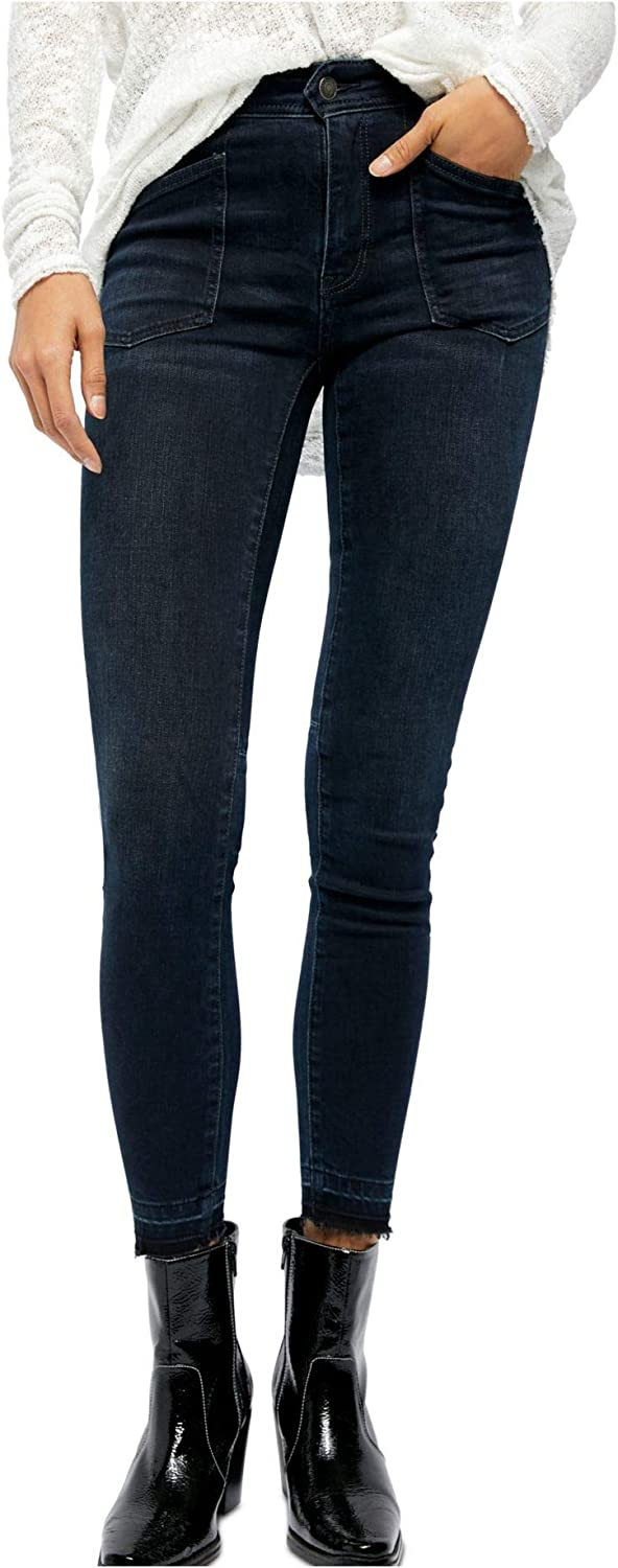 Free People Women's Regular store Ivy Skinny Rise Jeans Mid Sale Special Price