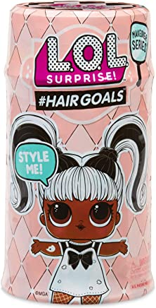 LOL Surprise 576-6220 Hairgoals, Makeover Series, 15 sorprese