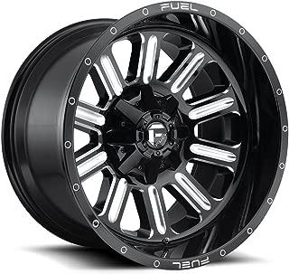 Fuel Off-Road Wheels: Hardline (D620) - Gloss Black Milled; 20x9 Wheel Size, 8x170 Lug Pattern, 125.1mm Hub Bore, 01mm Off Set.