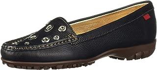 MARC JOSEPH 纽约女式皮革巴西制造 Mott 街头高尔夫鞋