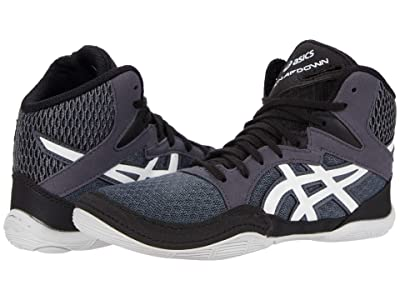 ASICS Kids Snapdown 3 Wrestling (Toddler/Little Kid/Big Kid) (Carrier Grey/White) Boys Shoes