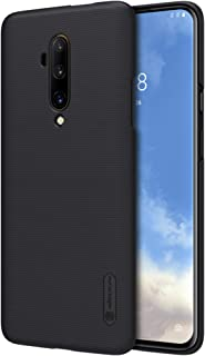 Oneplus 7T Pro Case, Nillkin Frosted Shield Hard Slim Case Back Cover for Oneplus 7T Pro - Black by Nice.Store.UAE