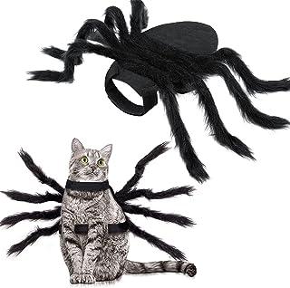 Halloween Spider Kostuum voor hondenkat, Halloween Pet Kostuum Halloween Decoraties, Spider Decor Halloween Party Supply, ...