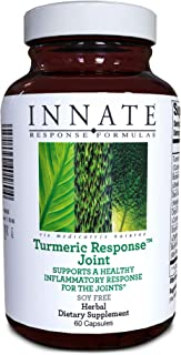 INNATE Response Formulas, Turmeric Response Joint, Supports Healthy Joint Inflammation Response, 60 Capsules (30 Servings)