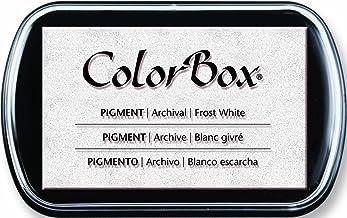 ColorBox Tinta pigmentada Pad, Blanco Escarcha