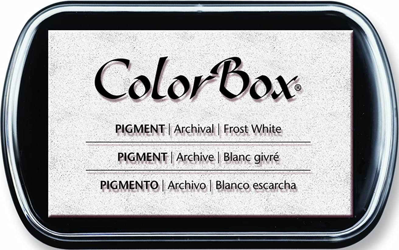 ColorBox Full Size Pigment Ink Pad: Frost White