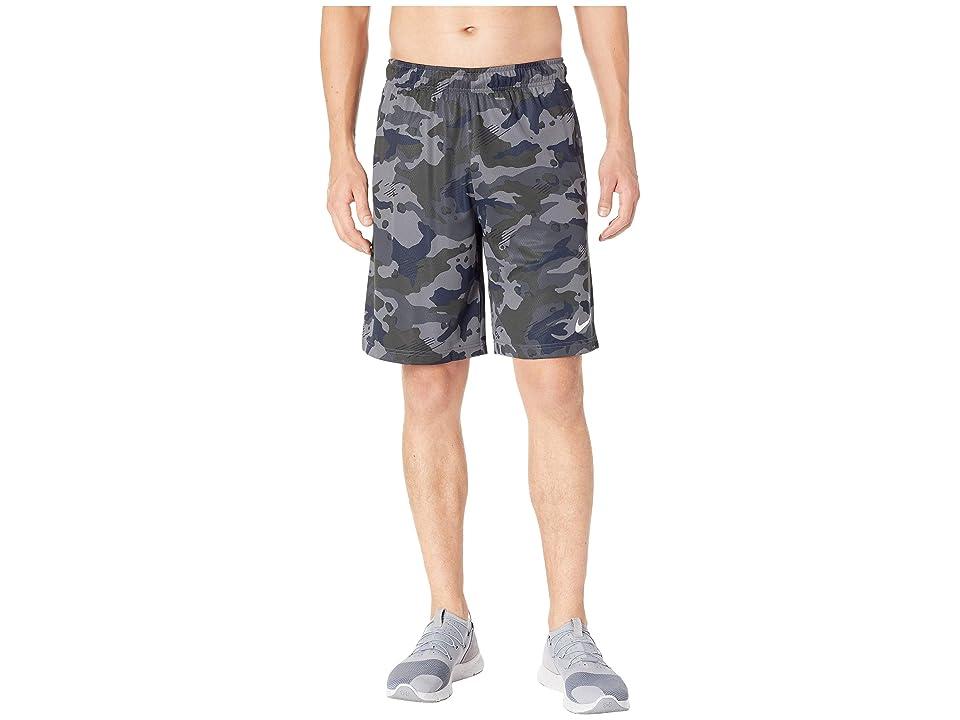 Nike Dry 2L Camo Shorts (Anthracite/White) Men